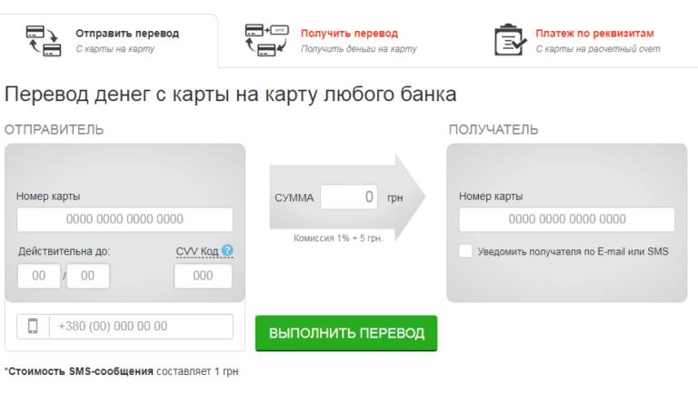 Як перевести гроші з картки Приватбанку на картку Ощадбанку через Інтернет: 4 простих способи